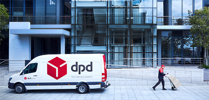 DPD returns portal for business customers